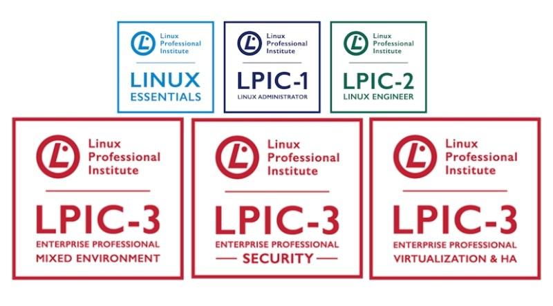 certificación de Linux